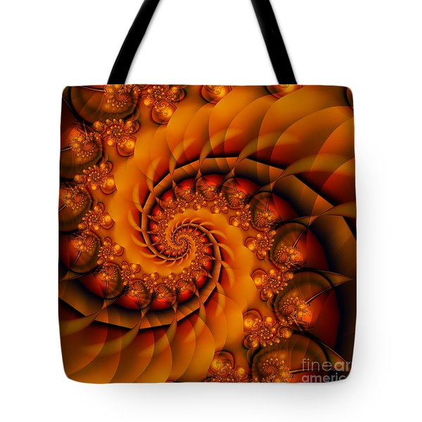 Jewels Of Autumn Tote Bag by Michelle H