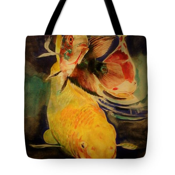 Jewels Of Lakes. Tote Bag