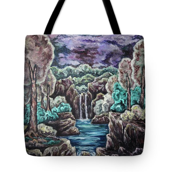 Jewels Of The Valley Tote Bag