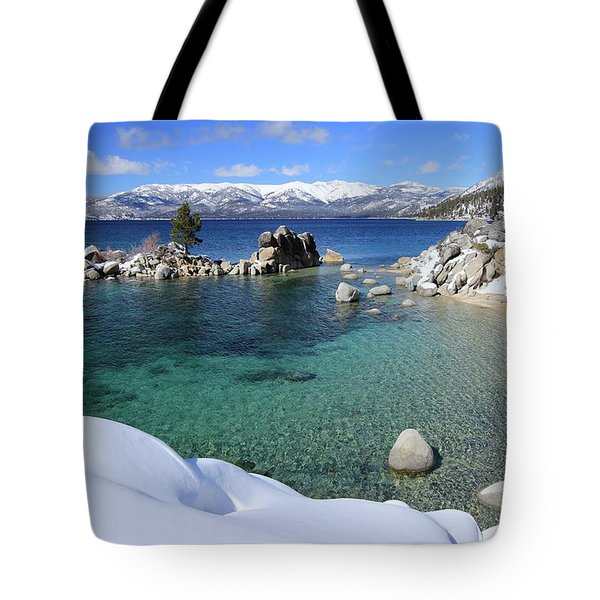 Jewels Of Winter Tote Bag