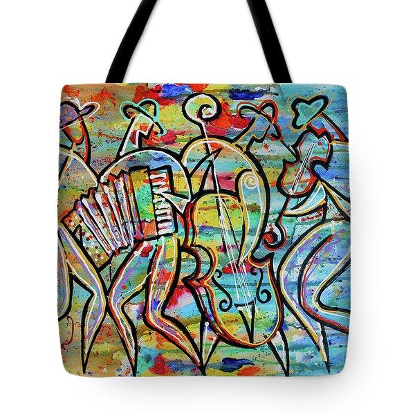 Jewish-funk Klezmer Music Tote Bag