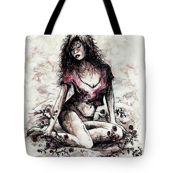 Jezebel Tote Bag by Rachel Christine Nowicki