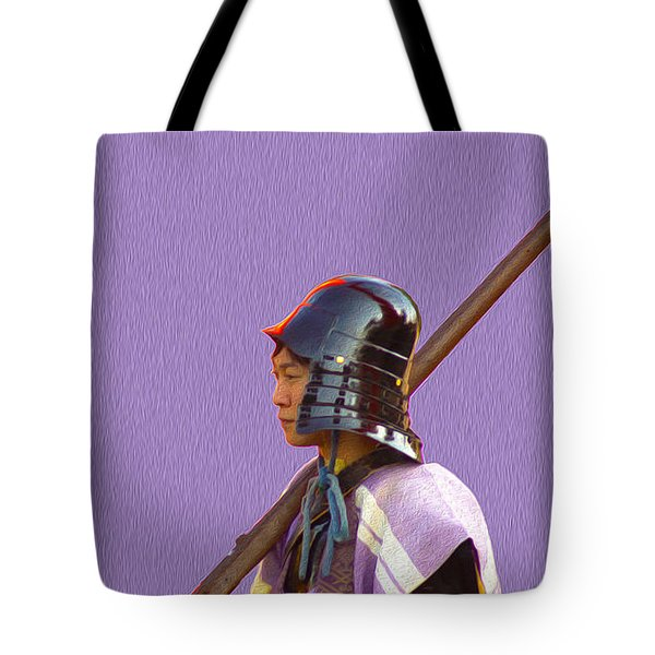 Tote Bag featuring the photograph Jidai Matsuri Iv by Cassandra Buckley