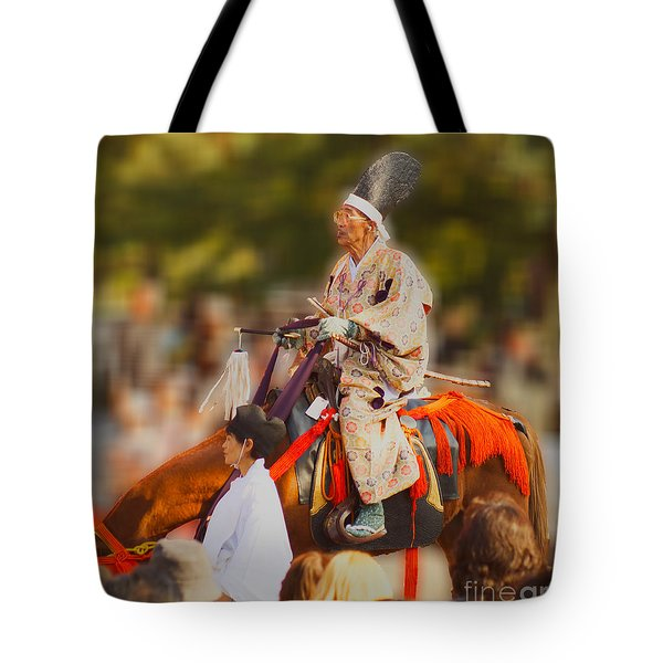 Tote Bag featuring the photograph Jidai Matsuri V by Cassandra Buckley