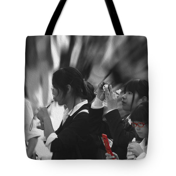 Tote Bag featuring the photograph Jidai Matsuri Viii by Cassandra Buckley