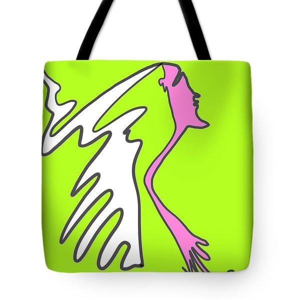 Jiggy Tote Bag