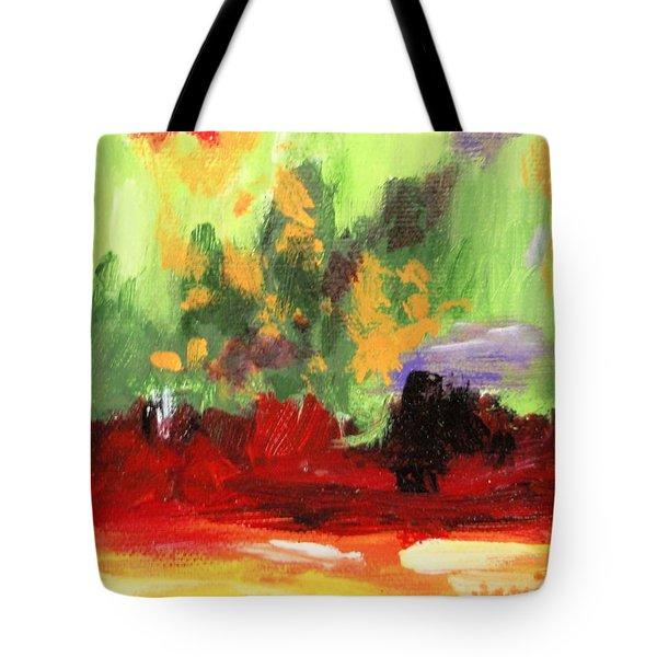 Jill's Abstract Tote Bag by Jamie Frier