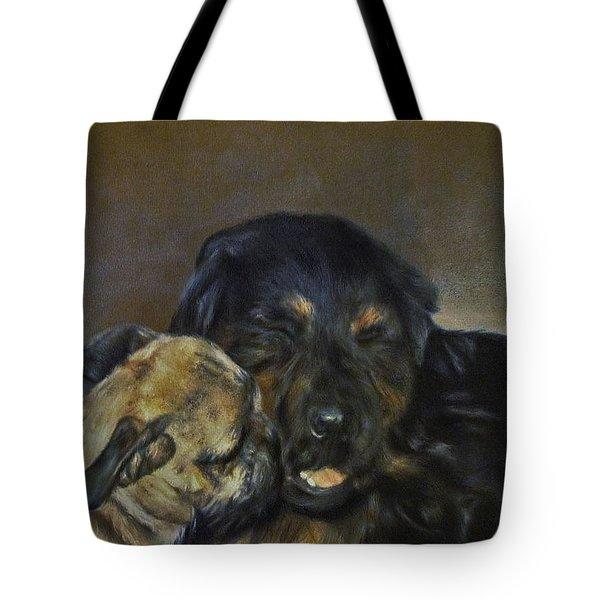 Jim And Ozzy Tote Bag