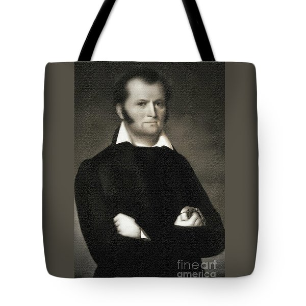 Jim Bowie - The Alamo Tote Bag