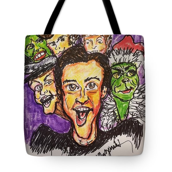 Jim Carrey Tote Bag