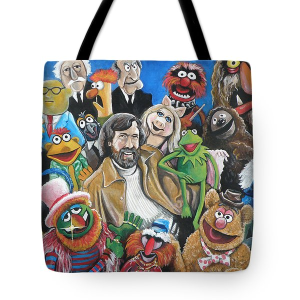 Jim Henson And Co. Tote Bag by Tom Carlton
