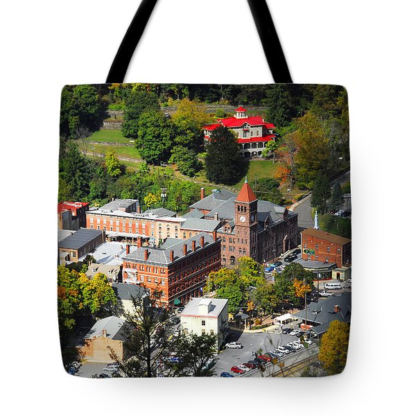 Jim Thorpe Pa Tote Bag by Cindy Manero
