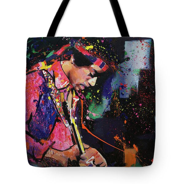 Jimi Hendrix II Tote Bag
