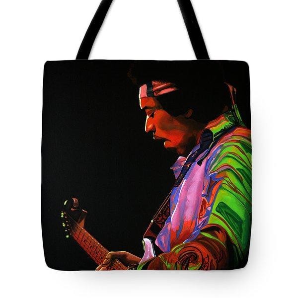 Jimi Hendrix 4 Tote Bag