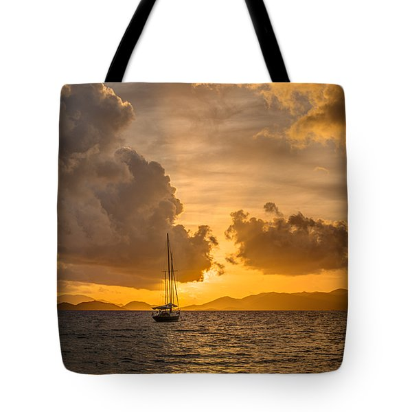 Jimmy Buffet Sunrise Tote Bag