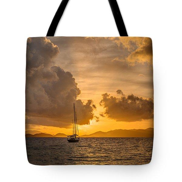 Jimmy Buffet Sunrise Tote Bag
