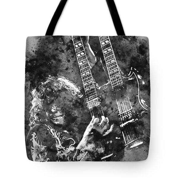 Jimmy Page - 02 Tote Bag