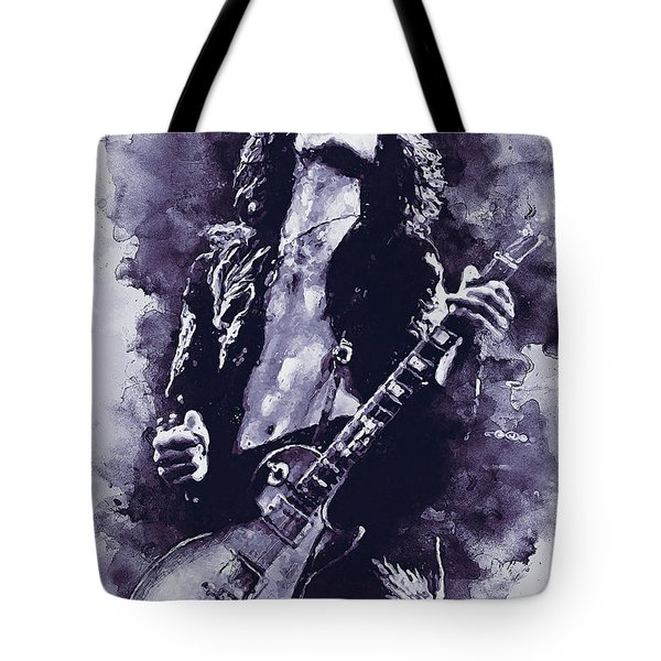 Jimmy Page - 17 Tote Bag
