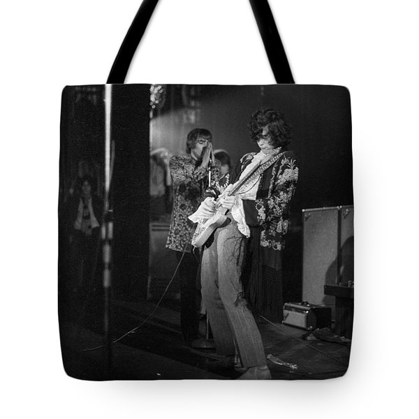 Jimmy Page And The Yardbirds - 1967 Tote Bag