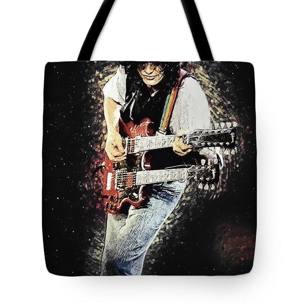 Jimmy Page II Tote Bag
