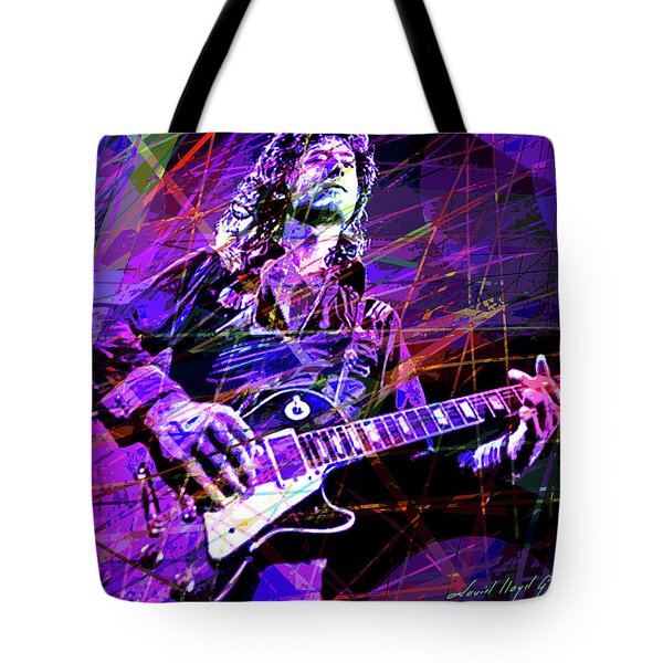 Jimmy Page Solos Tote Bag