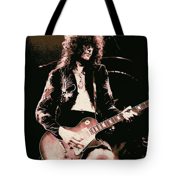 Jimmy Page - You Shook Me  Tote Bag