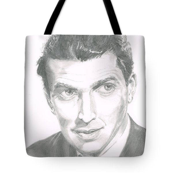 Jimmy Stewart Tote Bag