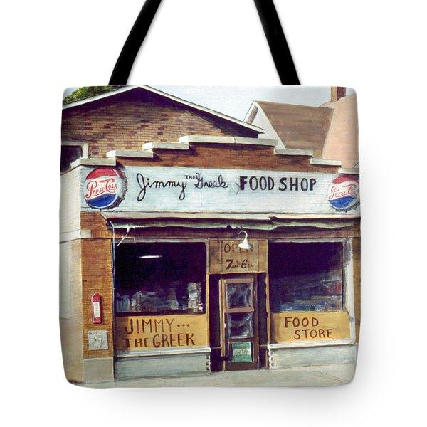 Jimmy The Greek Tote Bag