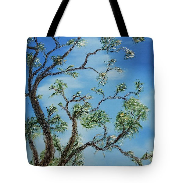 Jim's Tree Tote Bag