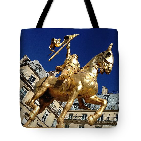 Joan Of Arc - Paris Tote Bag