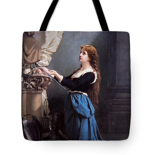 Joan Of Arc  Tote Bag by Photo Researchers