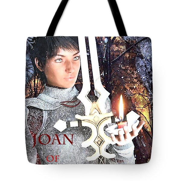 Joan Of Arc Poster 2 Tote Bag by Suzanne Silvir