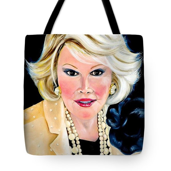 Joan Rivers Tote Bag