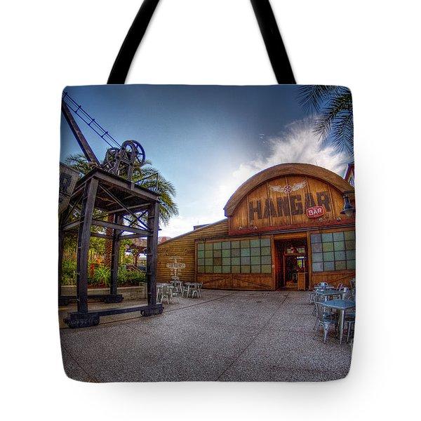 Jock Lindsey's Hangar Bar Tote Bag