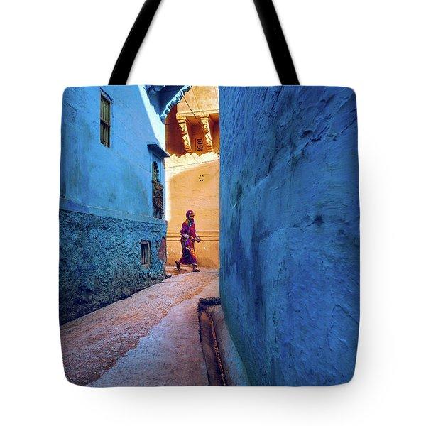 Jodhpur Colors Tote Bag