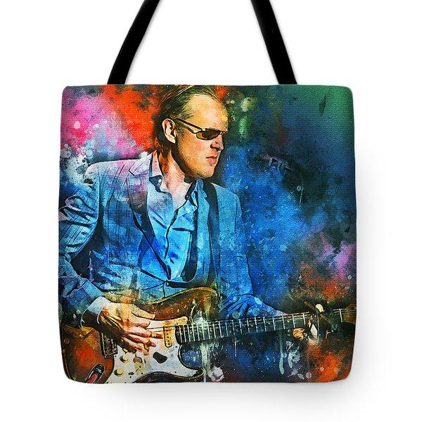 Joe Bonamassa Concerts Tote Bag