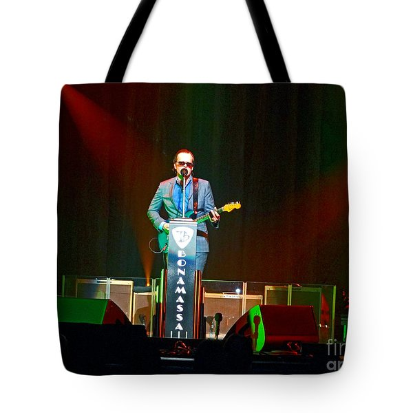Joe Bonamassa - Live Performance In Eugene Oregon  Tote Bag