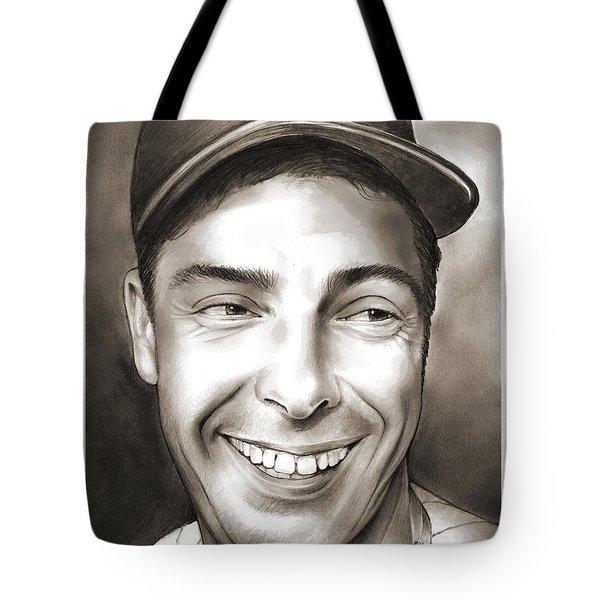 Joe Dimaggio Tote Bag