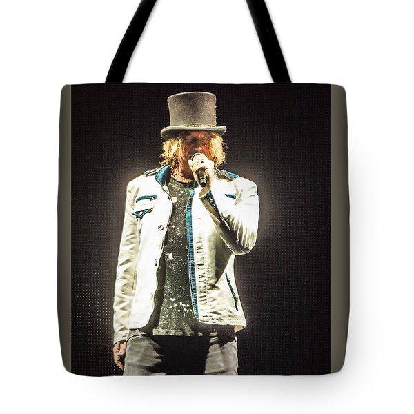 Joe Elliott Tote Bag