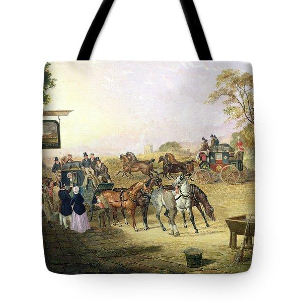 Joe Fry's Inn  Tote Bag by Anson A Martin