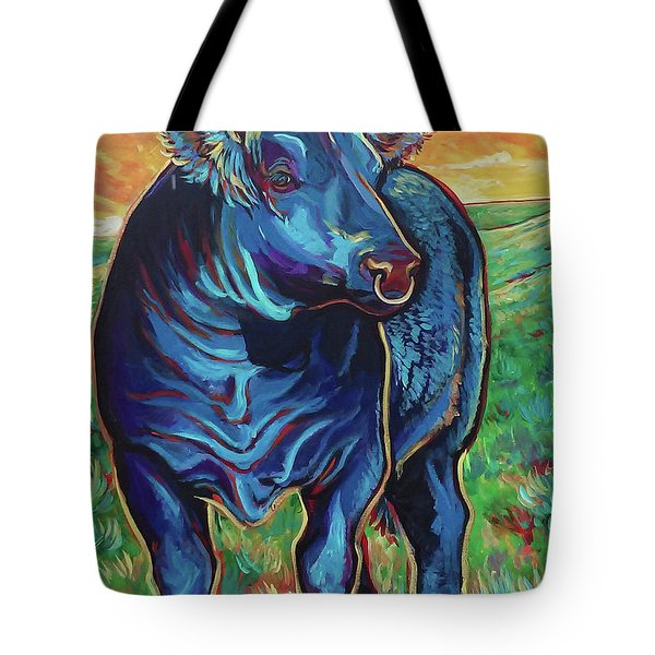 Tote Bag featuring the painting Joe by Jenn Cunningham