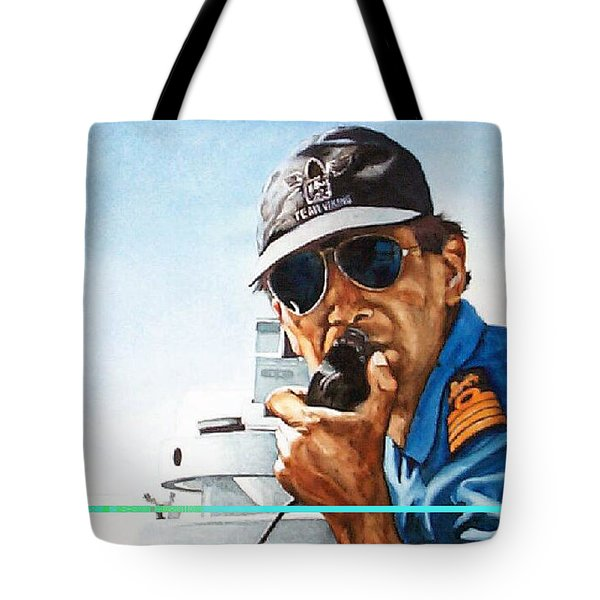 Joe Johnson Tote Bag by Tim Johnson