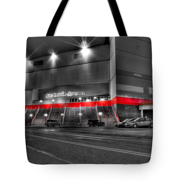 Joe Louis Arena Detroit Mi Tote Bag