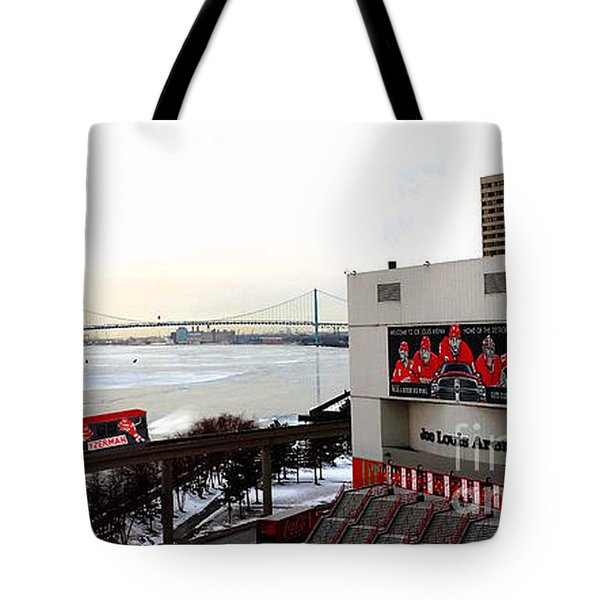 Joe Louis Arena Tote Bag