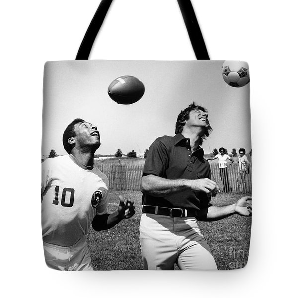 Joe Namath (1943- ) Tote Bag by Granger
