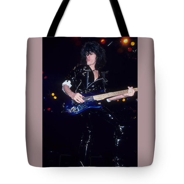 Joe Perry Tote Bag by Rich Fuscia