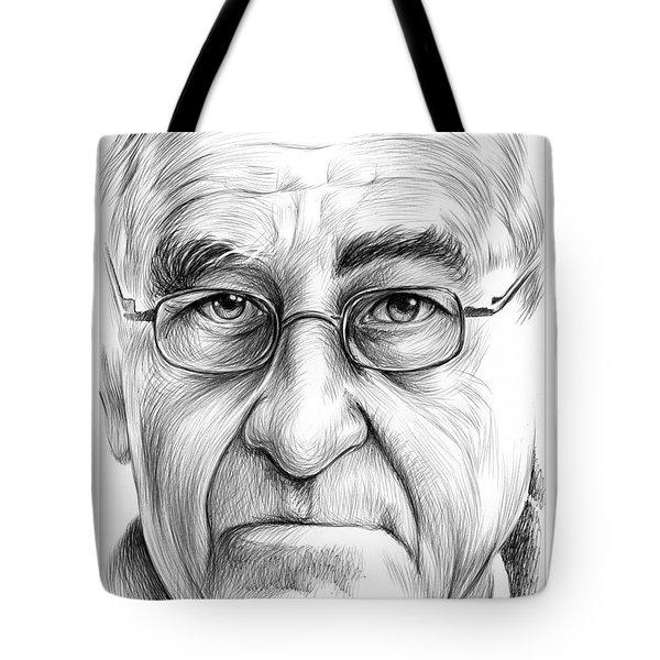 Joe Schlesinger Tote Bag by Greg Joens