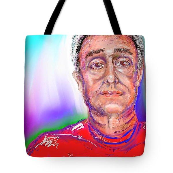 Joe Self Portiture  Tote Bag
