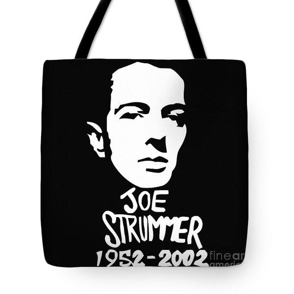 Joe Strummer Tote Bag