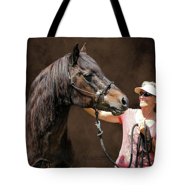 Joel And Chris Tote Bag